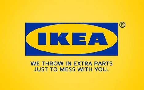 Satirically Honest Brand Slogans -