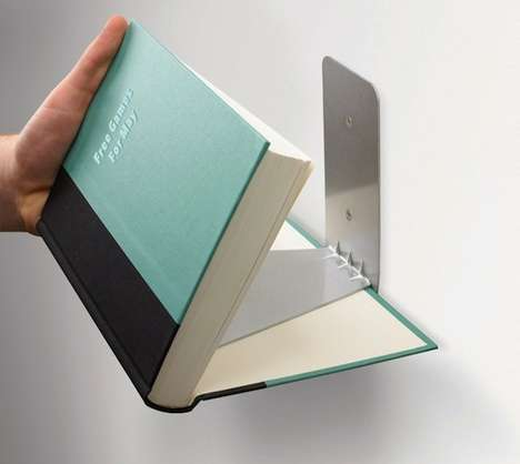 Invisible Bookshelf Designs - Umbra