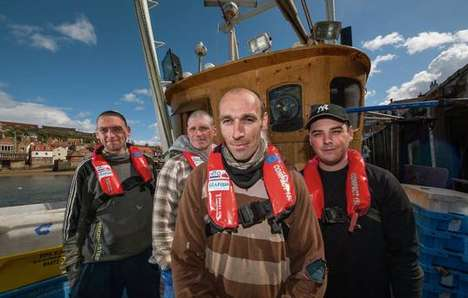 High-Tech GPS Lifejackets - These Lifejackets Could Help Prevent Fatalities in a Sea Disaster