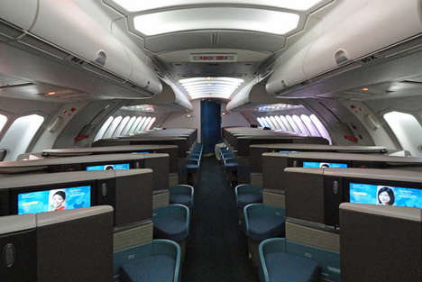 App-Powered Airline Services - These Customizable Seats Let Business Class Flyers Get the Best