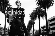 Androgynous Femme Fatale Editorials