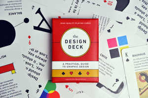 Ben Barrett-Forrest's Design Deck Gives Mini Graphic Design Lessons