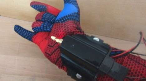 Superhero Web-Shooting Gadgets - This Webshooter Was Unveiled for the Spider-Man Film Release