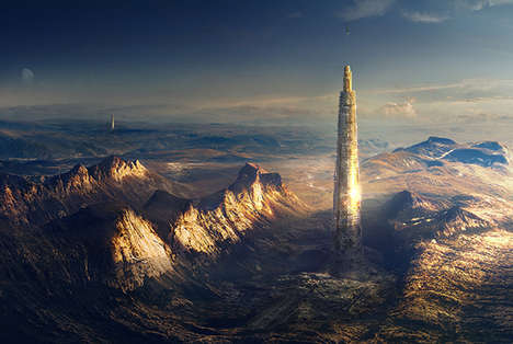 Futuristic Skyscraper Cities - Launchspire Rethinks Modern Architecture and Aviation