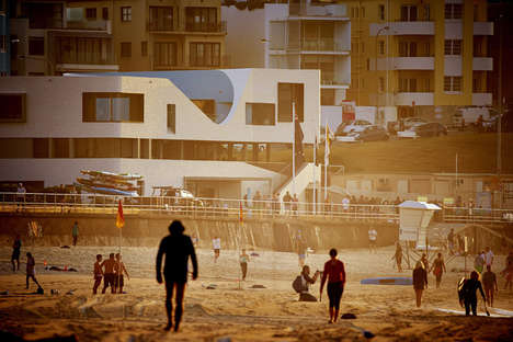 Beach-Blended Architecture - The North Bondi Surf Life Saving Club Receives a Makeover