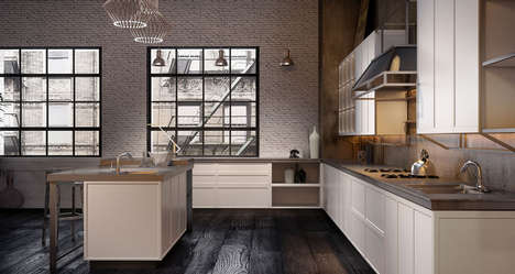 Steel Structured Kitchens - Massimo Iosa Ghini Creates the