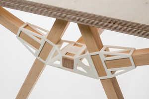 Studio Minale-Maeda's Keystones Make Furniture Assembly Easy
