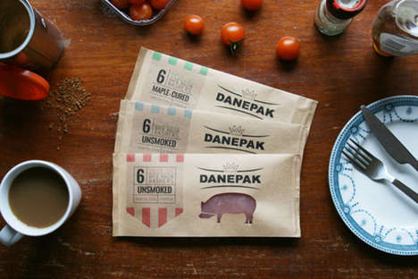 Blunt Bacon Branding - Rachel Brown Updates the Danepak Packaging Design