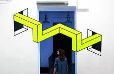 3D Tape Installations