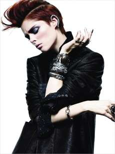 40 Edgy Mohawk Editorials - From Ethereal Punk Rocker Collections to Mod Mohawk Editorials