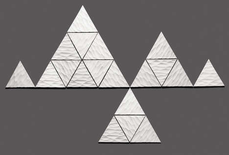 Customizable Triangle Tiles - These Kuusi Wall Tiles Transform Home Owners into Designers