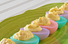 Pastel Egg Dishes
