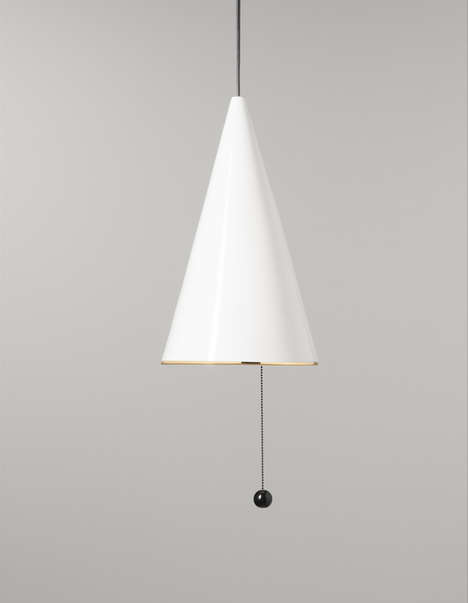 Circus-Themed Lighting - The Harlekiini Lamp by Anna Palomaa is Fit for a Carnival