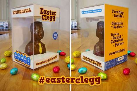 Political Parody Easter Chocolates - The