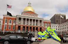 Marathon Tribute Sneakers - New Balance Released a Shoe in Honor of the Boston Marathon 2014