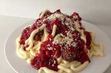 Illusionary Pasta Cakes - This Spaghetti Cake Tricks the Tastebuds in the Best Way