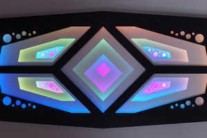 Craig Dorety's 'Division' Light Artwork Tests Limits of the Human Eye
