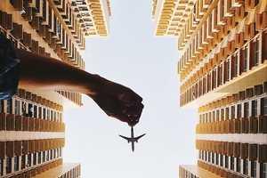 Varun Thota Snaps Deceptive Photos of Toy Airplanes