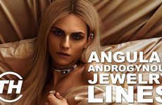 Androgynous Accessories - Andrej Pejic and Sam H Snyder Team Up for a New Take on Jewelry