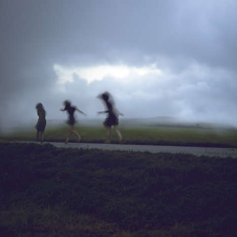 Haunting Blurred Photography - The Christine Muraton Images Are Evocative and Dark
