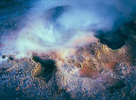 Unearthly Geyser Photography - The Andes Mountain Geyser Photos by Owen Perry are Out of This World