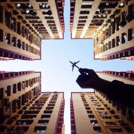 Pretend Plane Snapshots - The Varun Thota Pictures Are Imaginative and Lifelike