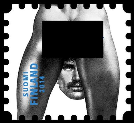 Hunky Postage Stamps - The Steamy 'Tom of Finland' Stamp Collection Celebrates Queer Culture