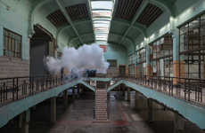 Antipode by Berndnaut Smilde is on in London, England