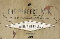 Wine Pairing Infographics - This Infographic by Cabot Cheese Shows the Perfect Wine & Cheese Pairing