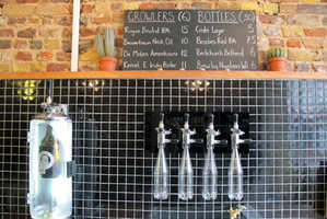 This Craft Beer Store in London Fosters a Close Relationship with Local Breweries