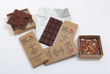 Socially Responsible Coffee Shops - East Van Roasters Creates Chocolates and Coffee from Raw Beans