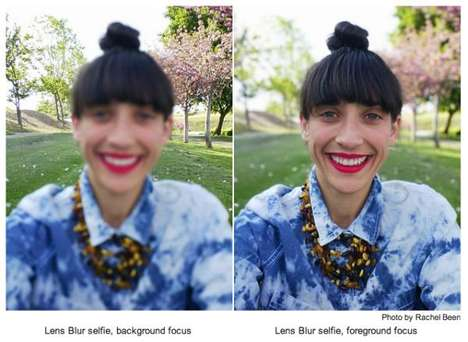 Blurring Camera Apps - Google Unveiled a New Photo App that Features