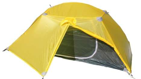 Lightweight Elastic Tents - These Brooks-Range Tents Reduce Reliance on Complicated Pole Setups