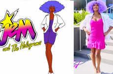 '80s Cartoon Character Transformations