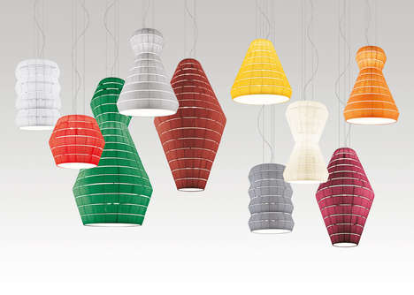 Pongé Pendant Lights - Vanessa Vivian has Created
