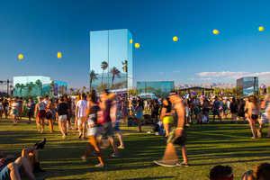 Phillip K. Smith Designs the Reflection Field for Coachella