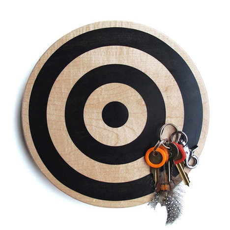 Magnetic Key Targets - These Limited Edition Key Targets from Bower Help You Practice Your Aim
