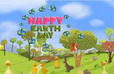 Kid-Friendly Environmental Apps - The Four Seasons Earth Day App Will Help Your Kids Be More Green