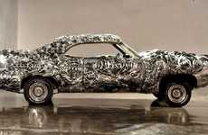 3D-Printed Muscle Cars - This 3D Printed Gran Torino is a Scary Looking Muscle Car