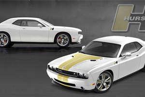 Hurst 500 HP Dodge SRT8 for NASCAR Fans