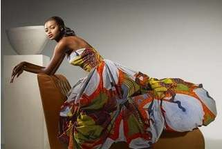Vibrant African Couture