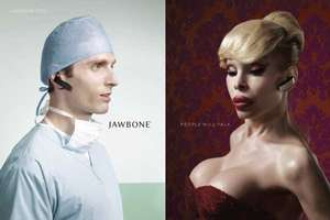 Amanda Lepore for Jawbone