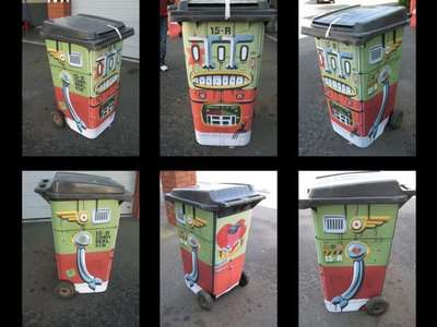 Guerrilla Trashcan Makeovers