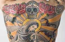 Virgin Mary Tattoo on Man's Back Sells for $218,000