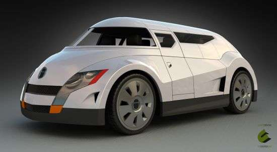 Aerodynamic Eco Vans