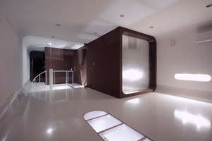 'Un Sui' House Inspired by A Space Odyssey