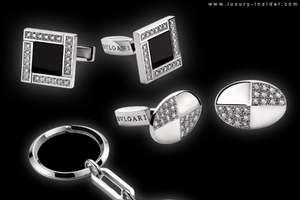 Bvlgari Cufflinks and Money Clips