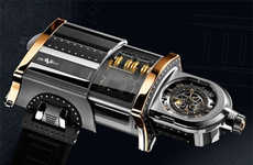 Steampunk Watch for the Well Off
