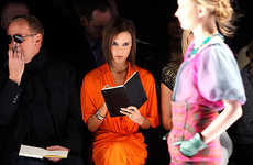 Celeb Fashion Week Collections - Victoria Beckham Rocks New York's Elite