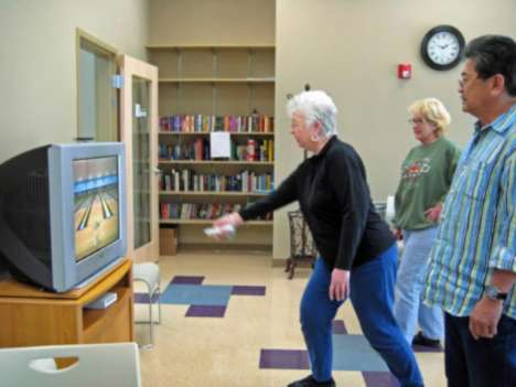 Retiree Wii Gamers